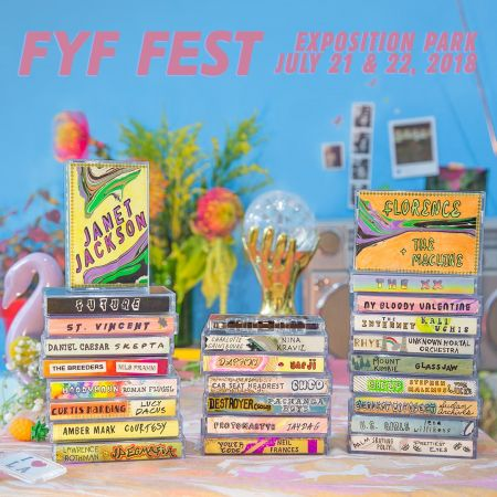 FYF Fest announces 2018 lineup with Janet Jackson, Florence +The Machine and more