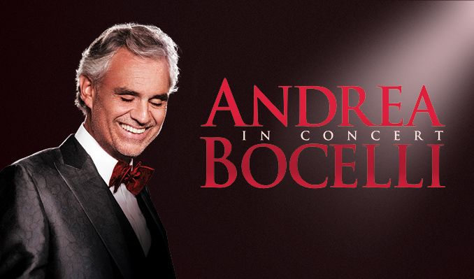 Andrea Bocelli Tickets In Las Vegas At Mgm Grand Garden Arena On Sat Dec 1 2018 8 00pm