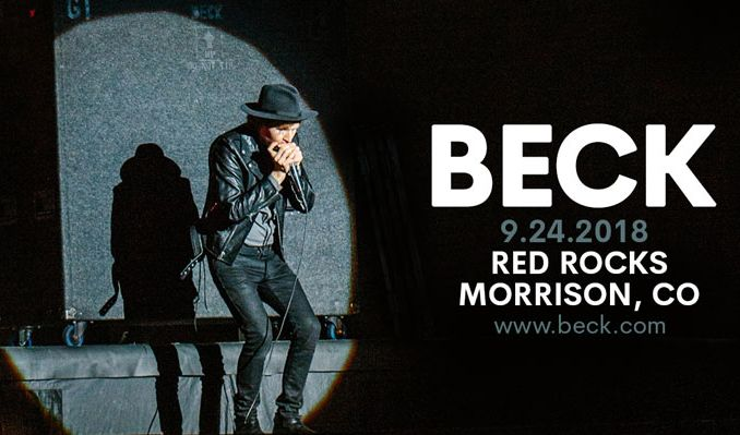 Beck tickets in morrison at red rocks amphitheatre on mon sep 24 beck tickets at red rocks amphitheatre in morrison stopboris Gallery