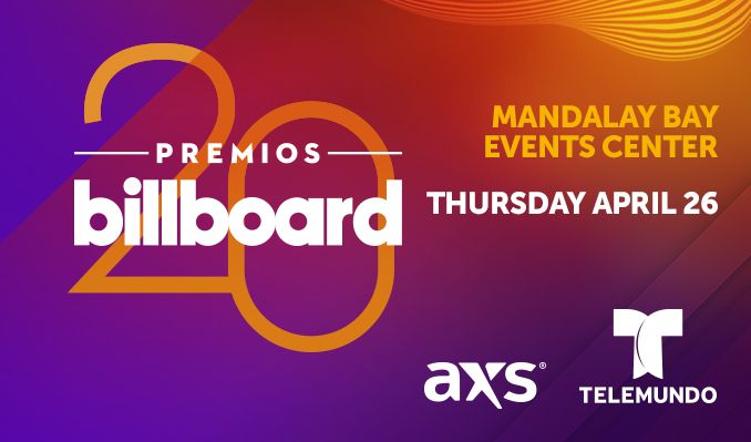 Billboard Latin Music Awards tickets at Mandalay Bay Events Center in Las Vegas