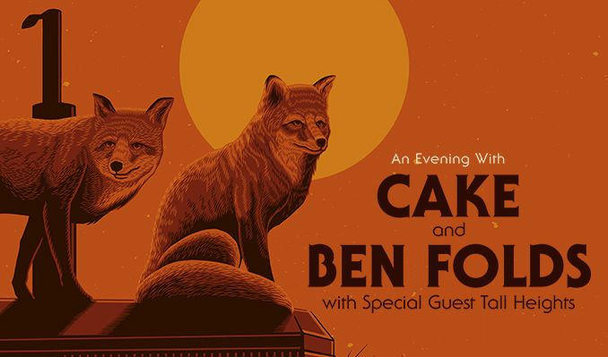 CAKE & Ben Folds tickets at Virginia Credit Union LIVE! at Richmond Raceway in Richmond