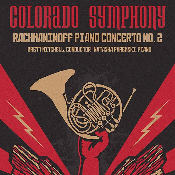 Image for Colorado Symphony: Rachmaninoff Piano Concerto No. 2