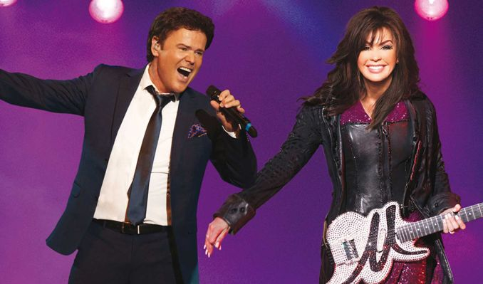 Donny & Marie tickets at St. Augustine Amphitheatre in St. Augustine