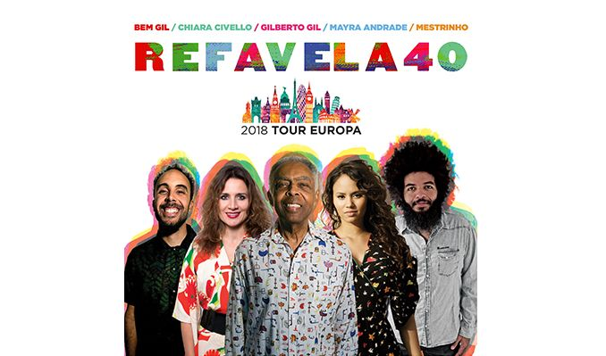 Gilberto Gil + Refavela 40 tickets at Barbican Hall in London