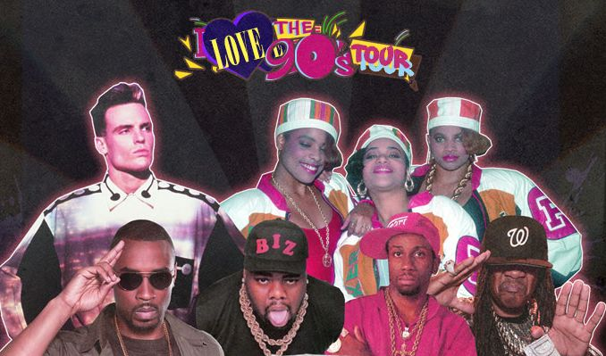 I Love The 90's tickets at Fiddler's Green Amphitheatre in Greenwood Village
