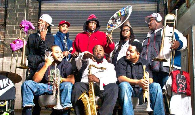 The Soul Rebels featuring Special Guests Curren$y, GZA, Smoke DZA! tickets at Brooklyn Bowl in Brooklyn
