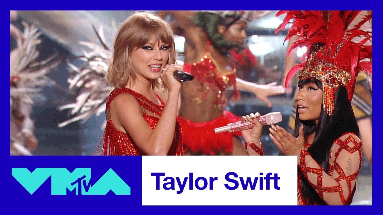 Watch Taylor Swift's best moments at the MTV VMA