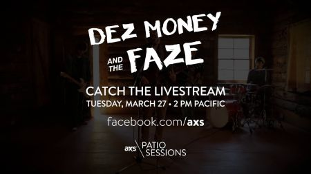 Next up on the AXS Patio Sessions: Dez Money and The Faze