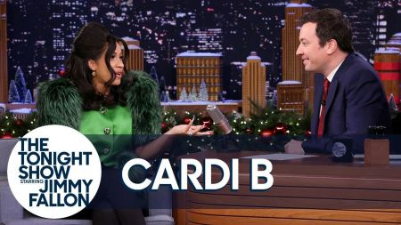 Cardi B set to join Fallon's 'Tonight Show' as first ever co-host