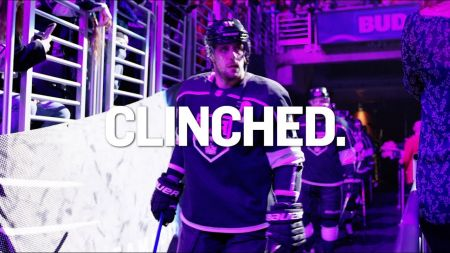 LA Kings come through in the clutch to clinch playoff berth