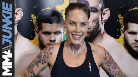 Bec Rawlings vs. Ashlee Evans-Smith highlights UFC 223 fight card