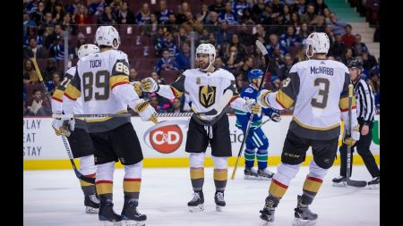 Golden Knights to face either Anaheim or Los Angeles in first round of Stanley Cup playoffs