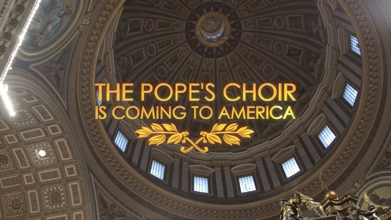 The Sistine Chapel Choir announces first ever US tour