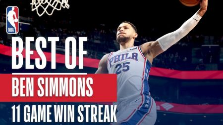 Ben Simmons stumps for Rookie of the Year