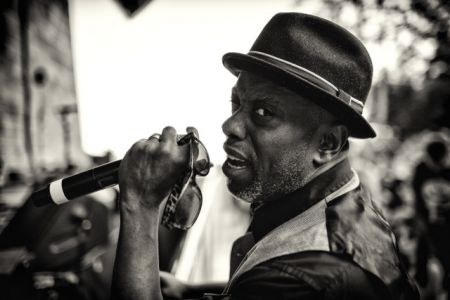 Interview:  Living Colour frontman Corey Glover celebrating the 20th anniversary of his solo album 'Hymns'