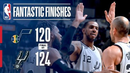 San Antonio Spurs continue playoff streak