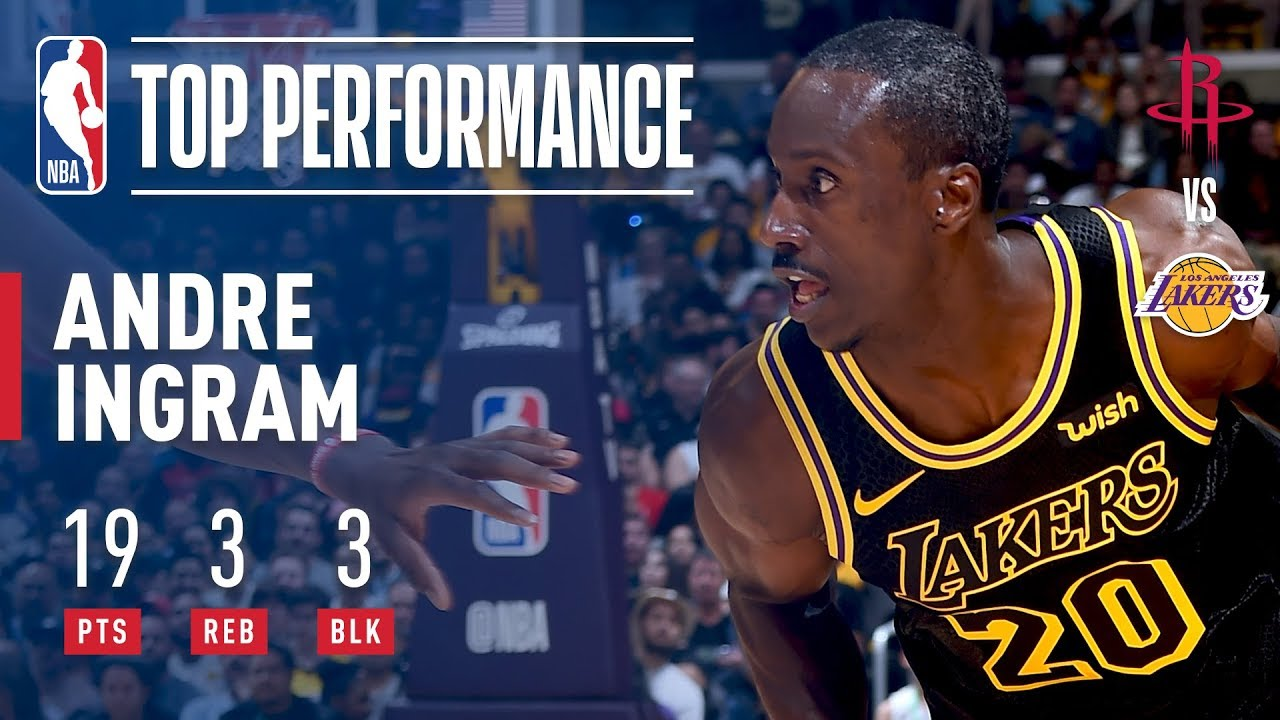 Andre Ingram shines for Lakers in NBA debut