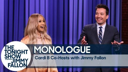 Watch: Cardi B co-hosts, performs 'Money Bag' on 'The Tonight Show'