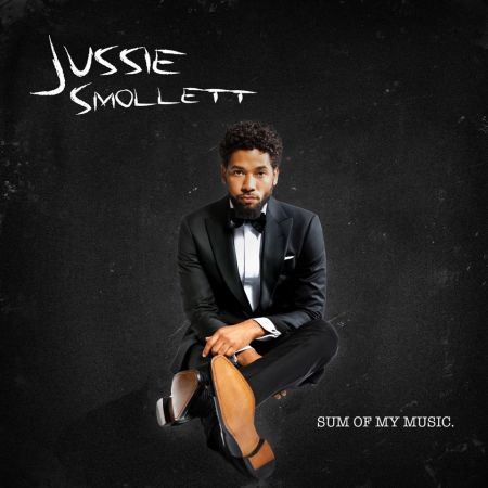 Cover art for Empire star Jussie Smollett's debut release, Sum of My Music.