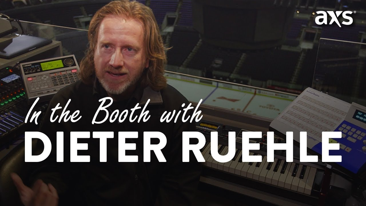 Watch: LA Kings organist Dieter Ruehle takes you inside his booth