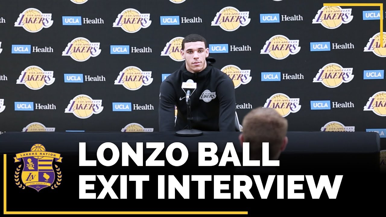 Lonzo Ball prepares for important offseason