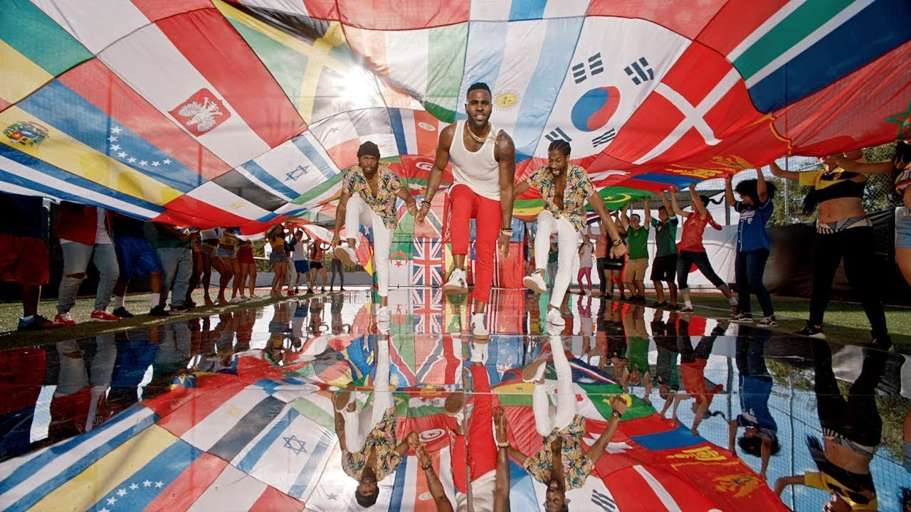 Watch: Jason Derulo shares unifying video for World Cup anthem 'Colors'