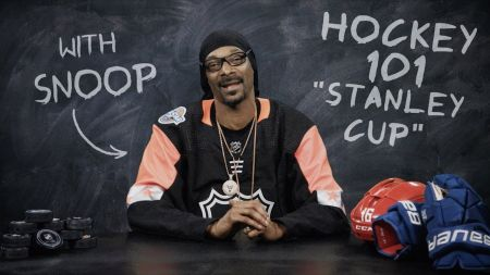 Hockey fan Snoop Dogg explains the history of the Stanley Cup in new NHL series