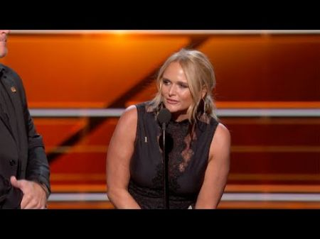 Miranda Lambert's 'Tin Man' wins Song of the Year at the 2018 ACM Awards