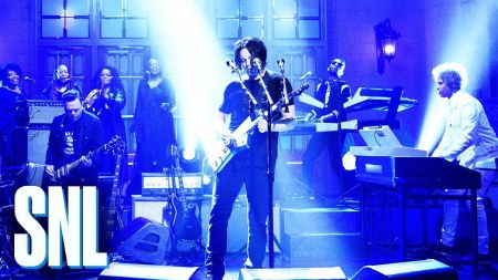 Watch: Jack White performs single 'Connected by Love' on 'SNL'
