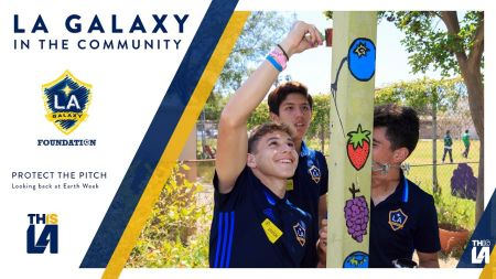 LA Galaxy II celebrate Earth Day with Protect the Pitch Night