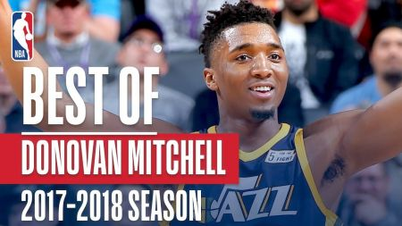 Donovan Mitchell's status for Game 2 in question