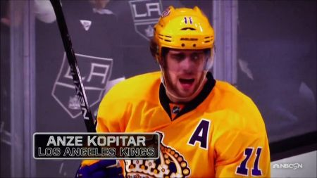 Anze Kopitar nominated for the Selke Trophy