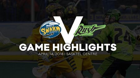 Georgia Swarm move into first place in NLL Eastern Division