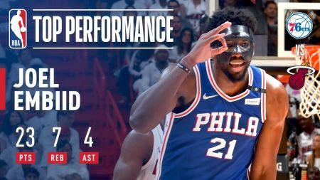 Joel Embiid likes Philadelphia 76ers' chances in 2018