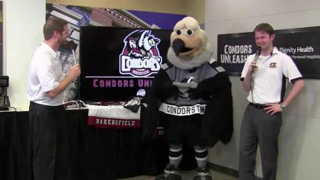 Colonel Claw'd named best mascot in Bakersfield