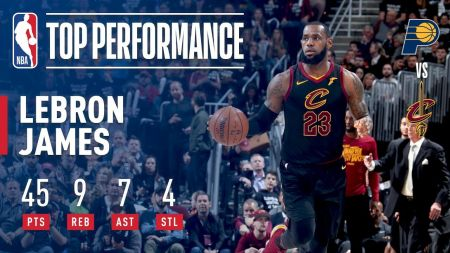 Vintage LeBron James powers Cavaliers to Eastern Conference semifinals