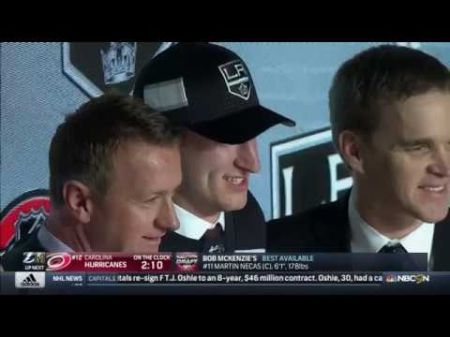 LA Kings to draft 20th in 2018 NHL Entry Draft