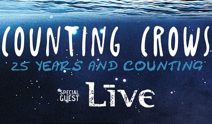 Counting Crows with special guest +LIVE+: 25 Years and Counting tickets at Pepsi Center in Denver