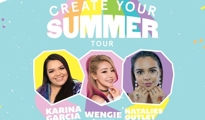 Create Your Summer Tour feat. Karina Garcia, Wangie, & Natalies Outlet tickets at Union Transfer in Philadelphia