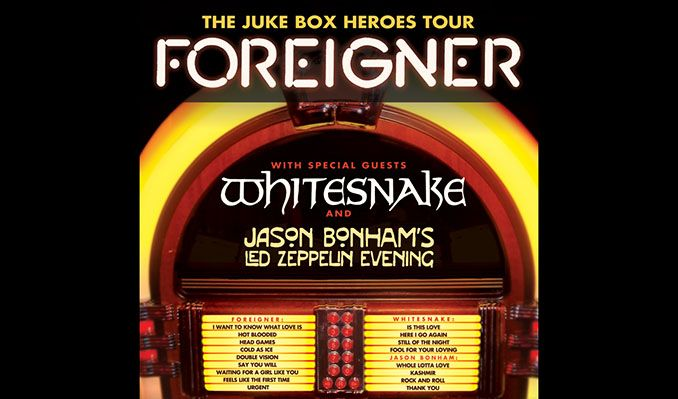 Foreigner - Juke Box Heroes Tour tickets at Pepsi Center in Denver