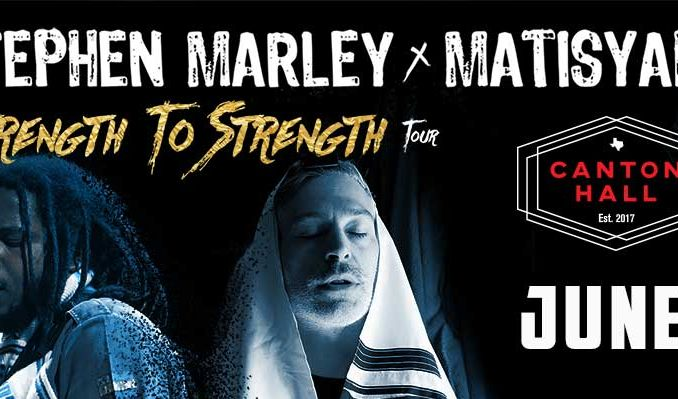 Matisyahu & Stephen Marley tickets at Canton Hall in Dallas