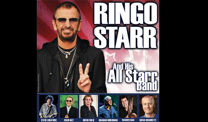 Ringo Starr & His All Starr Band tickets at Paramount Theatre in Denver