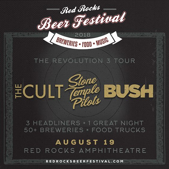 Thumbnail for THE CULT * Stone Temple Pilots * BUSH- Revolution 3 Tour