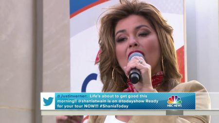 Watch: Shania Twain perform 'I'm Alright' on 'The Today Show'