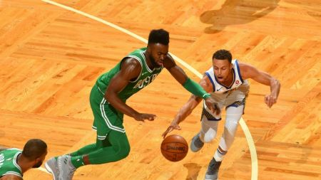 Celtics' Jaylen Brown expected to miss Game 2 against 76ers