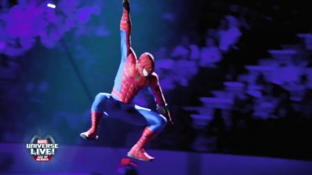 Marvel Universe LIVE! Age of Heroes swings into Kansas City's Sprint Center