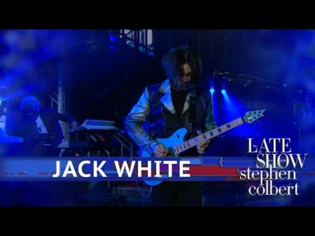 Watch: Jack White performs 'Ice Station Zebra' on 'The Late Show with Stephen Colbert'