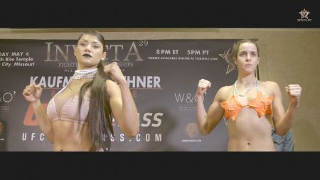 MMA: Pint-sized Invicta FC staffer uses '100 pounds of muscle and fear' to break up weigh-in scuffle