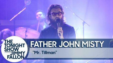 Watch: Father John Misty delivers spot on performance of 'Mr. Tillman' on 'The Tonight Show'