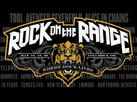 Rock on the Range releases set times for three day festival
